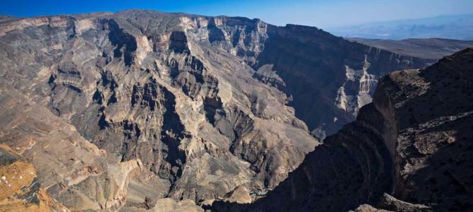 Jebel Shams (4WD) The Grand Canyon of Oman – Muscat Tours
